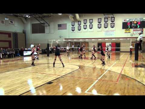 Erin Erb - OH - Huntley High School Volleyball Regionals 2014