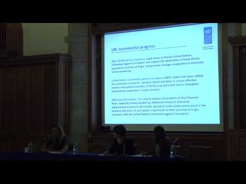 Gail Hurley - Intergovernmental Organization Perspectives on Illicit Financial Flows