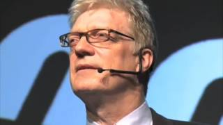 Sir Ken Robinson - SCHOOLS KILL CREATIVITY. thumbnail