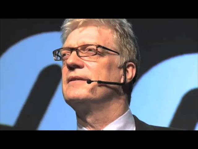 Sir Ken Robinson - SCHOOLS KILL CREATIVITY.