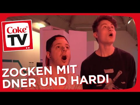 Hardi und Dner im Game Science Center | #CokeTVMoment