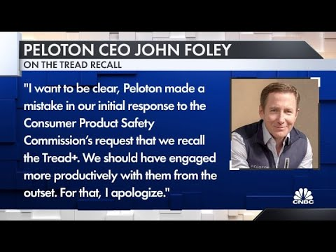 Peloton recalls treadmills after child's death and others' reported ...