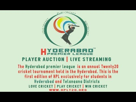First edition of Hyderabad Premier League opens