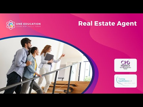 Real Estate Agent I One Education