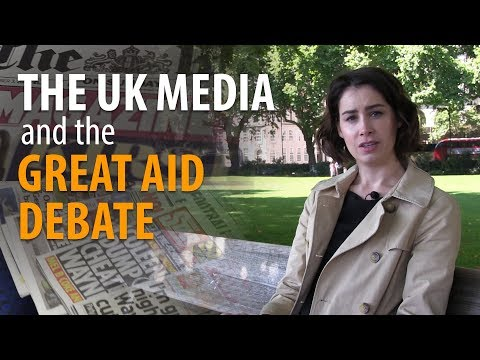 The UK media and the great aid debate
