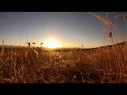 Sunset Over Bozeman MT   September 25th 2014   Realtime   HD