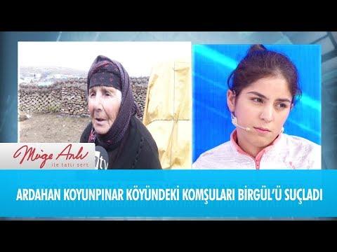 Ardahan Koyunpınar köyündeki komşuları Birgül'ü suçladı  - Müge Anlı ile Tatlı Sert 4 Aralık 2018