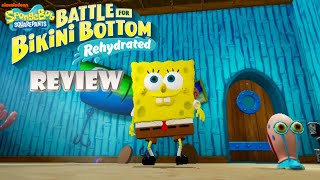 Spongebob Squarepants: Battle for Bikini Bottom - Rehydrated (Switch) Review (Video Game Video Review)