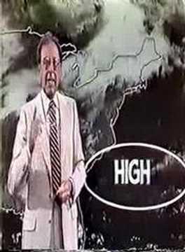 WNBC TV NYC LIVE AT FIVE WEATHER SEGMENT 1983