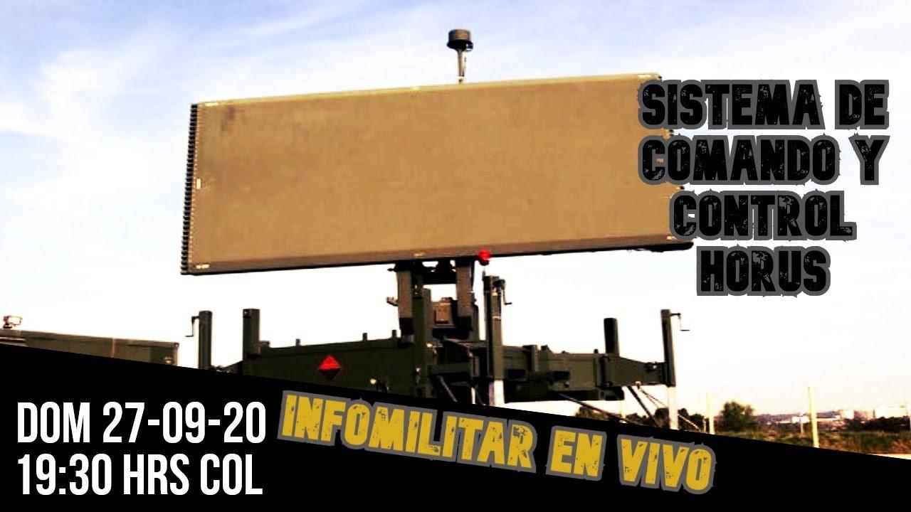 🛑EN VIVO hablemos del SISDAN y radares de largo alcance TPS-70/78