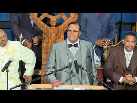 Louis Farrakhan Declares, My Jesus is Alive!