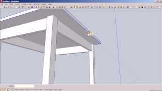 Using Sketchup To Design An End Table