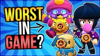 WORST New STAR POWER in Brawl Stars?! Gene, Bibi, Jessie Star Power Review