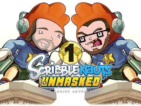 Scribblenauts Unmasked Laser-Baboon (EP01) (Nintendo Wii U) - Guys VS Games