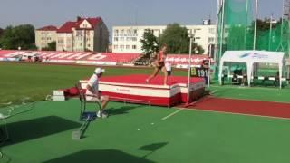 Прыжки в высоту на Чемпионате Украины 2016,женщины