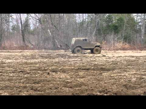 4BT Land Cruiser at the top of Moody Hill | FunnyCat TV