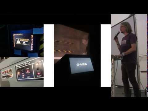 Tom Wyatt – How we spent a year building a spaceship simulator in a caravan
