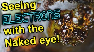 Seeing Electrons with the Naked Eye!