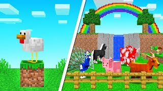Minecraft BUILD The Most ELITE MODDED FARM! (new mobs)