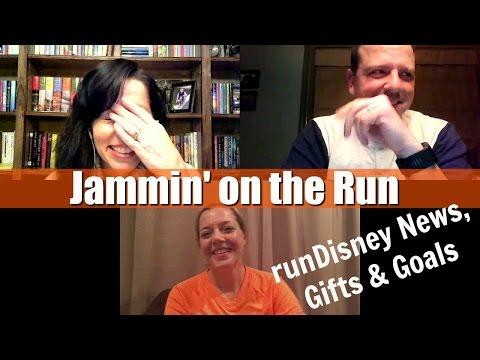 runDisney News, Gifts & Goals | Jammin' on the Run 018