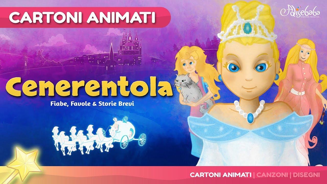 Cenerentola storie per bambini cartoni animati italiano