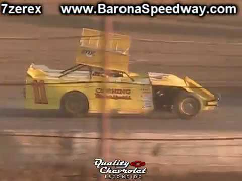 IMCA Modified Heat 2 Barona Speedway 10-7-2017