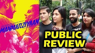 Manmarziyan PUBLIC Review | Hit Or Flop | Live Audience Reaction | Movie Review