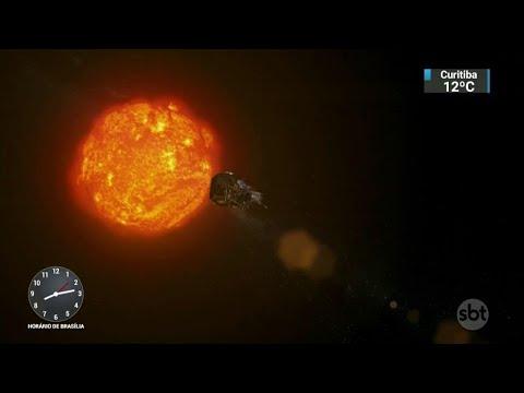 Nasa adia lançamento de sonda que vai chegar ainda mais perto do Sol | SBT Brasil (11/08/18)