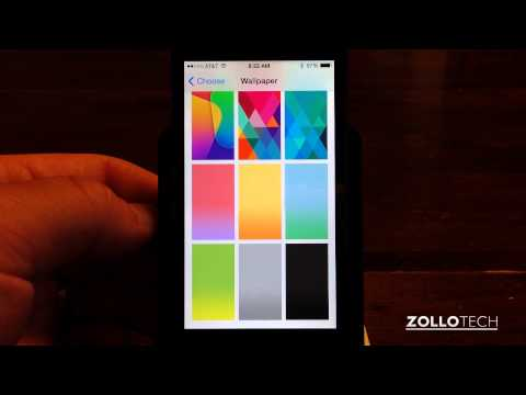 iOS 7 New Wallpapers and Ringtones