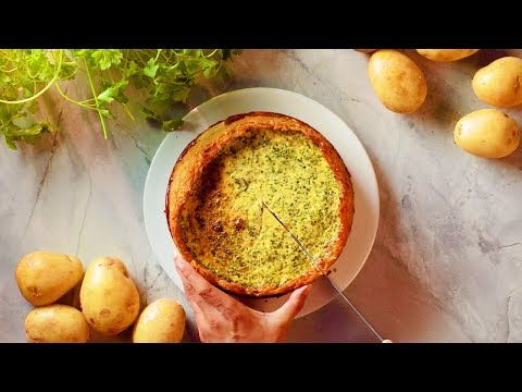 The Perfect Dinner Party Dish: Cheese & Potato Pie