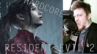 RESIDENT EVIL 2 - CLAIRE || HARDCORE #8