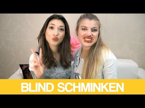BLIND SCHMINKEN mit PAOLA MARIA!