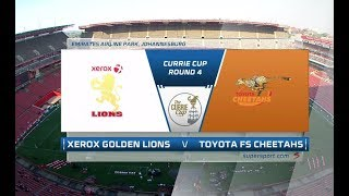 Currie Cup 2018 | Xerox Golden Lions vs Toyota FS Cheetahs