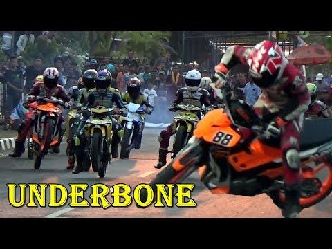 GILAAK SAKTI ANDRE Feat UNDERBONE BOTUNA PECUNDANGI LAWANNYA ; Road Race KAJEN Pekalongan