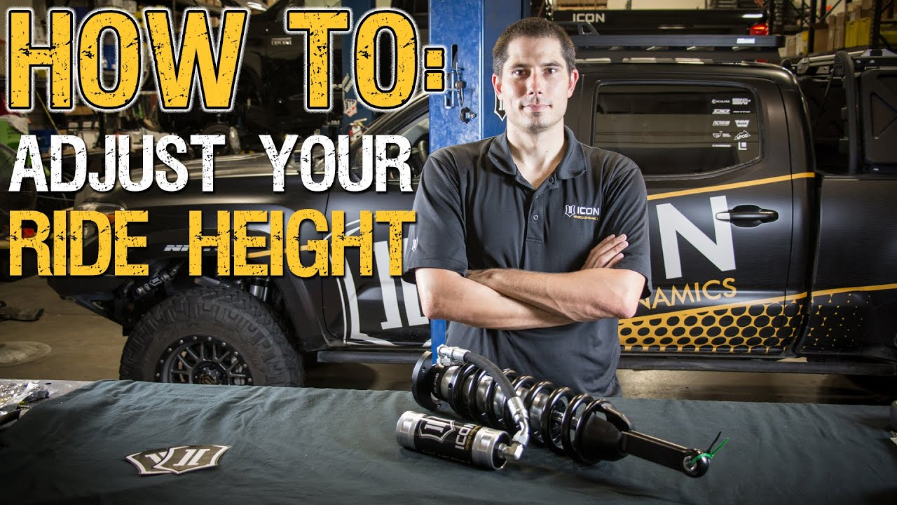 HOW TO: Adjust Your Ride Height Using ICON Coilovers