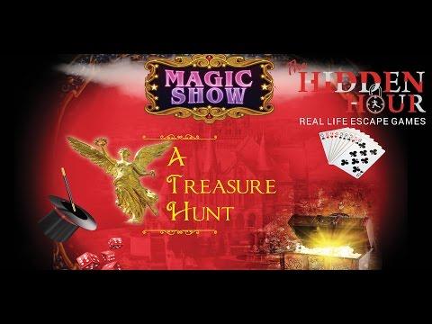 Mission: MAGIC SHOW - A TREASURE HUNT (The Hidden Hour @ MGF Metropolis Mall, Gurgaon )