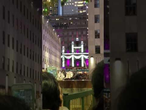 Rockefeller Center, NEW YORK CITY 2016 Christmas