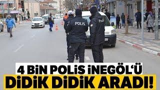 Bursa'da 4 Bin Polisin Katılımıyla 'Narko Timsah' Operasyonu...