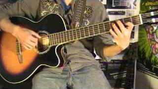 WALTER LOZADA 15 Curso de guitarra peruana / Acordes para Vals en D n°1