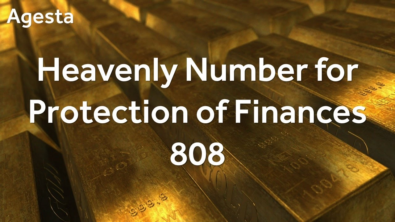 Heavenly Number for Protection of Finances – 808 – Números Grabovoi