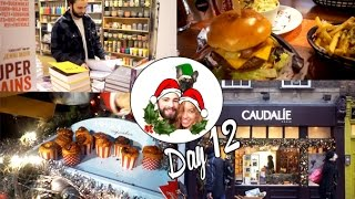 Yummy Burgers & The Hobbit! ❄ Vlogmas 12 Thumbnail