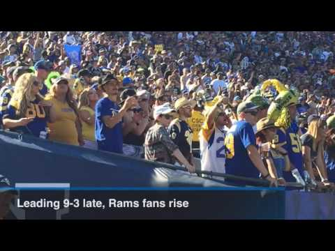Rams edge Seattle in first NFL game in LA since 1994