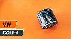 Как да сменим моторно масло и маслен филтър на VW GOLF 4 [ИНСТРУКЦИЯ]