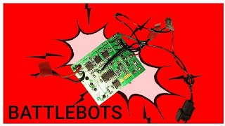 EASY combat robot electronics for beginners