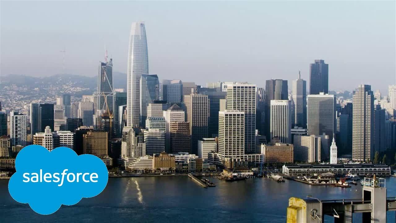 Trailblazer Moment: Salesforce Tower Grand Opening - YouTube