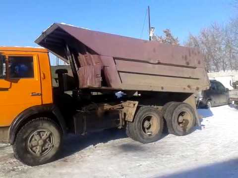 Самосвал Камаз 55111-15 6х4 (Tipper KAMAZ 55111-15) - YouTube