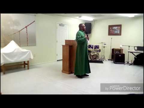 """Bishop Mills """"Be Satisfied In God"""" 7/17/16"""