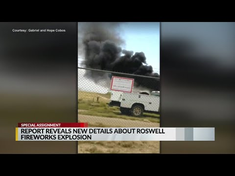 Investigation reveals new details in Roswell fireworks