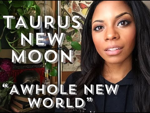 TAURUS NEW MOON~A WHOLE NEW WORLD!