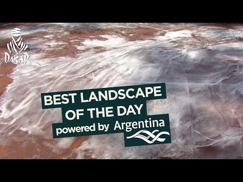 Stage 12 - Landscape of the day; powered by Argentina